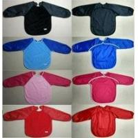 Wholesale Baby bib, velour toweling with a nylon water resistant from china suppliers