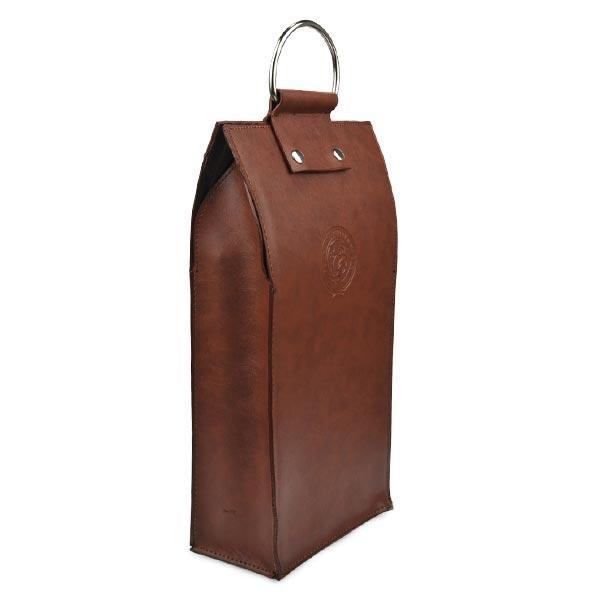 Quality Gift Craft Industrial Use and Handmade Feature leather wine case carrier for sale