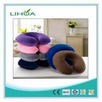 Wholesale U shaped memory foam soft plush Travel pillow from china suppliers