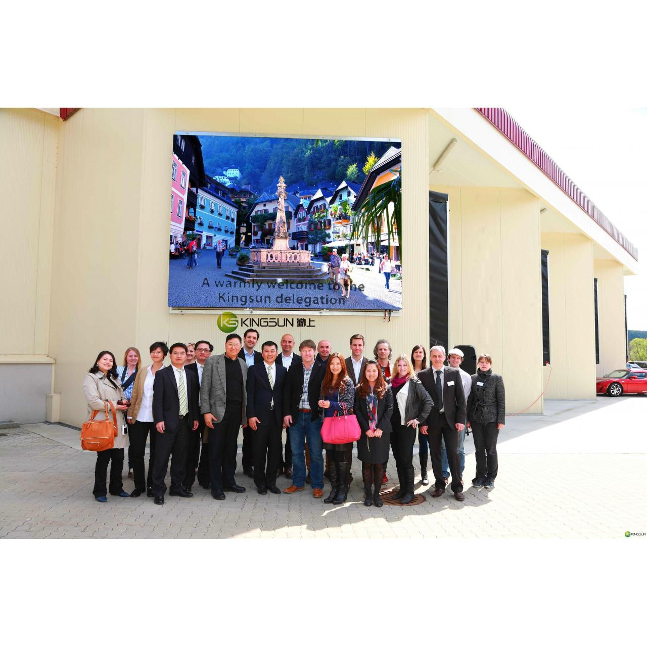 Wholesale LED display PH10 full color outdoor LED display from china suppliers