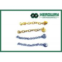 Buy cheap Button eyelets with chain from Wholesalers