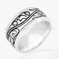 Buy cheap 925 Sterling Silver Engraving Ring from Wholesalers