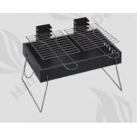 Buy cheap Double wire mesh portable charcoal grate height adjustable bbq grill from wholesalers