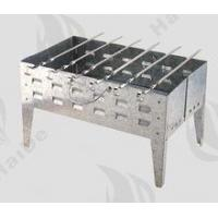 Buy cheap galvanized barbecue grill with skewer/ galvanized steel bbq grill from wholesalers