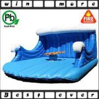 Wholesale inflatable mechanical rodeo surfboard ride for adult game, inflatable game for sale from china suppliers