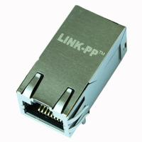 ARJ11F-MASF-AB-A-FL2 RJ45 10/100/1000 Base-T Jack With Magnetic Module
