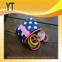 Wholesale Blue And Pink Polka Dot Baby Pacifier Bag,Baby Pacifier Clip,Baby Pacifier Holder from china suppliers
