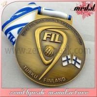 2015 Wholesale antique brass medals,cheap award medals,3d custom logo sport medal sport medallion