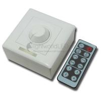 China Wall-Mounted 12-Key RF Remote Control LED Dimmer on sale