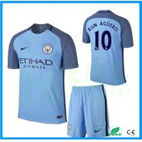 China New Season Custom Manchester City Club Long Sleeve Soccer Jersey and Training Jersey on sale