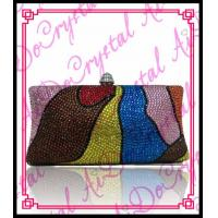 Wholesale Aidocrystal trendy colorful beaded clutch bag irregular patterns evening purses and handbags 2016 from china suppliers