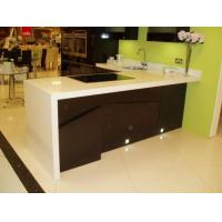 China Quartz Artificial Stone Kitchen Quartz Worktops Sinks on sale