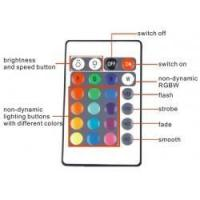 Wholesale Mini WiFi RGB LED Strip Controller For Phone Smartphone Tablet + 24 Keys Remote Controller from china suppliers