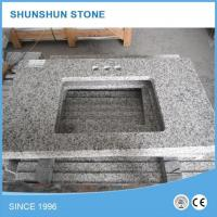 Wholesale Chinese Tongan White G655 Natural Stone Granite Bathroom Vanity Top from china suppliers