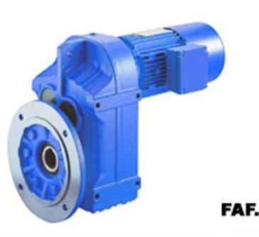 Quality F series parallel shaft helical gear reducer motor for sale