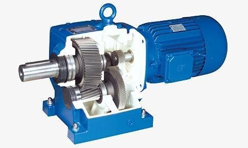 Quality Cylindrical gear speed reducer for sale