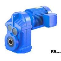 Wholesale FA parallel shaft helical gear speed reducer from china suppliers