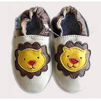 Wholesale Baby Cowskin shoes (Yellow Lion) from china suppliers