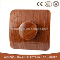 Wholesale Skillful Manufacture Wooden Light Dimmer Switch from china suppliers