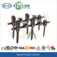 Wholesale Orthopedic Surgical Instrument USS Spinal Fixation System from china suppliers