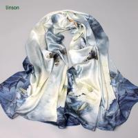 Wholesale China Manufacturer Supplies100% Pure Silk Scarf With Customized Design from china suppliers