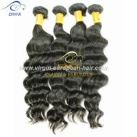 Wholesale Double Drawn 8A human hair wholesale price dye-able deep wave brazilian hair weave from china suppliers