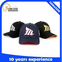 Wholesale Fashion Accessories New Design best made 3D embroidery custom softextile baseball cap from china suppliers
