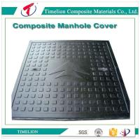 Wholesale Security & Protection BEST selling SMC/FRP/COMPOSITE EN124 D400 Manhole cover from china suppliers