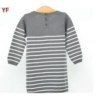 Wholesale Girls Knitting Pattern Fancy Sweater Dress For Children from china suppliers