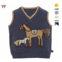 Wholesale Latest Wool Sweater Design For Boys Custom Sweater Vest from china suppliers