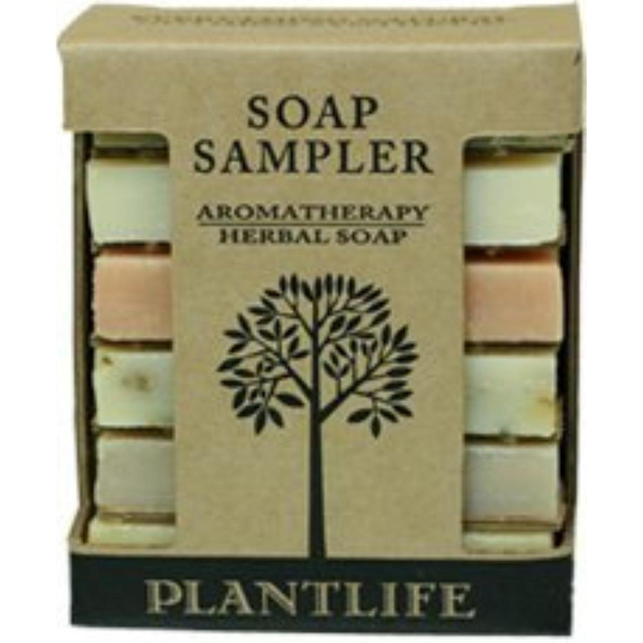 Wholesale Aromatherapy Herbal Soap Sampler (Made with 100% Pure Essentail Oils) by Plantlife from china suppliers