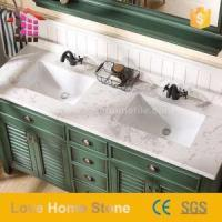 Wholesale Vanity Top Cultured Marble Bathroom Tops and White Vanity with Marble Top with Great Price from china suppliers