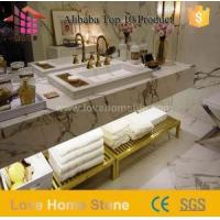 Wholesale Unique 37 X 19 Bathroom Vanity Tops and Marble Vanity Tops with Double Sink from china suppliers