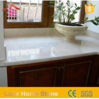 Wholesale Engineered Imperial Solid Surface Bathroom White Cultured Marble Vanity Tops Made in China from china suppliers