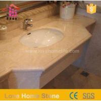 Wholesale China Made Marble Sink Tops for Bathroom and Travertine Vanity Top from china suppliers