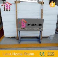 Buy cheap Honed Surface Finish Mugla White Marble for Wall Tiles and Bathroom Floor Design from wholesalers