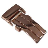 Buy cheap 20mm Breitling Style Deploy Buckle (Rose Gold Tone) from Wholesalers