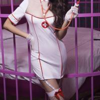 Wholesale Clothes Adult Sexy Lingerie Sexy Uniform Temptation Suit Sexy Nurse Dress Can Be Customized from china suppliers