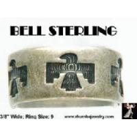 Buy cheap Jewelry Bell Sterling Ring: Vintage Bell Sterling Thunderbird Ring from Wholesalers