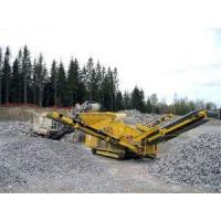 Buy cheap High Capacity Construction Waste Crusher Mobile Crushing and Screening Station Plant from wholesalers