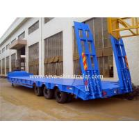 Buy cheap Low bed semi trailer 50T from Wholesalers
