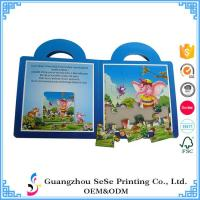 Buy cheap Custom Children Full Color Puzzle Book Printing wholesale from wholesalers