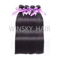 Buy cheap Brzailian Silky Straight 100% Human Hair Weave Bundles Unprocessed Hair Weft from Wholesalers