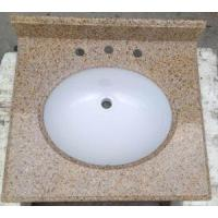 Buy cheap Polished Granite Bathroom Vanity Tops For Home from Wholesalers