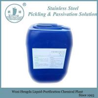 China Stainless Steel Pickling and Passivation Liquid Pickling and Passivation Solution on sale