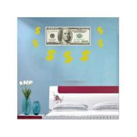 China 24 x 36 $100 Bill & Dollar Signs Vinyl Wall Poster on sale