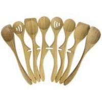 Wholesale Left-handed Applicable Custom Bamboo Lazy Spoon Set from china suppliers