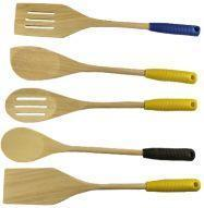 Wholesale Custom Wholesale Cheap Wooden Spoons Set in Bulk from china suppliers