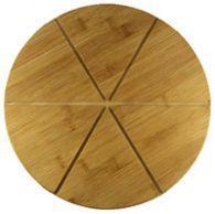 Wholesale Eco- Friendly Custom Round Bamboo Pizza Board from china suppliers