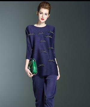 Quality Women Polyester Pant Suit for sale